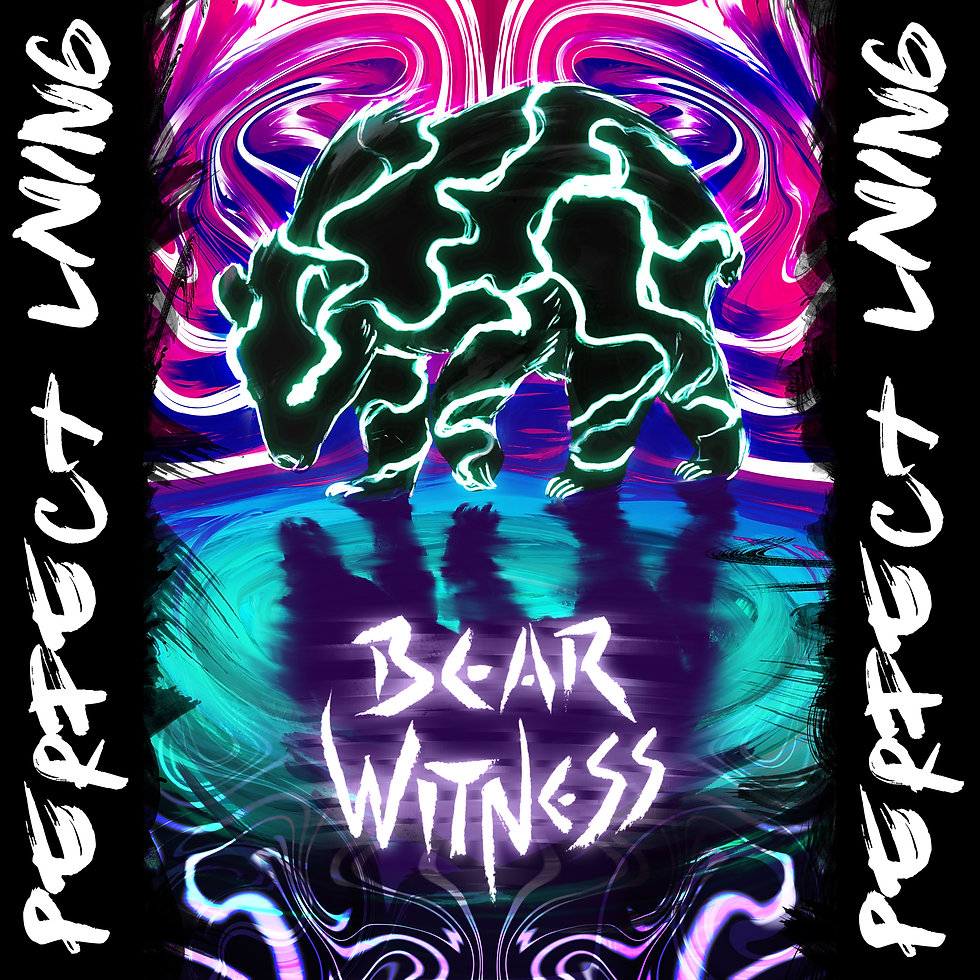 Bear Witness - Perfect Living Cover Art.