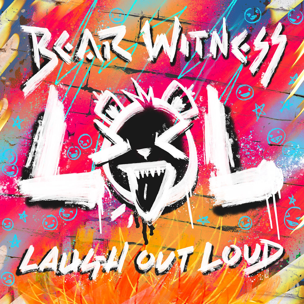 Bear Witness - laugh out loud cover art