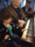 Ellen, Lucy play organ 1.JPG