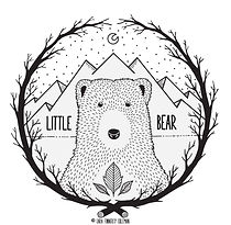 Little Bear Illustration Logo-Cara Finne