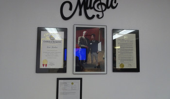 Glendora Music and Arts School Lobby