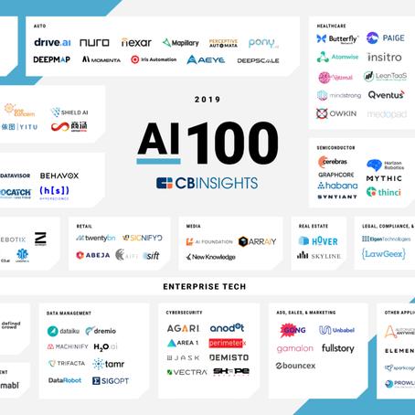 2019년 주목할 100대 AI 스타트업, 그 결과는?