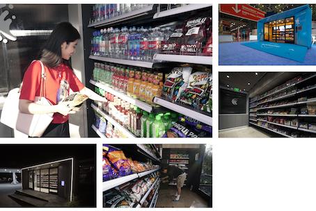 자판기와 편의점 그 중간 어딘가에 있는 인공 지능 기반 무인점포, NanoStore