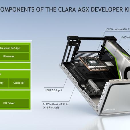 의료 기기용 고성능 AI 개발킷 -NVIDIA Clara AGX