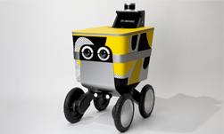 22kg 정도 짐을 배달하는 동네 배달꾼 로봇 'Serve' 택배도 이제는 AI 로봇이?