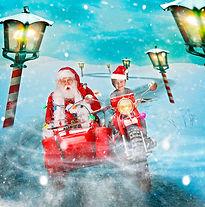 A Ride with Santa