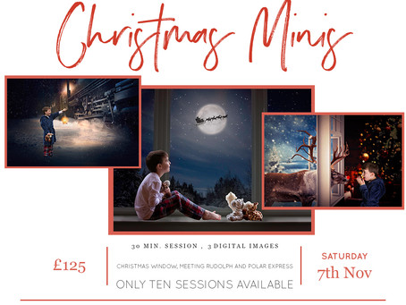 Now Booking Special Christmas Minis