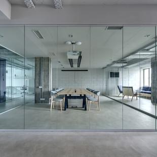 Millennium Glass: Glass Office Dividers