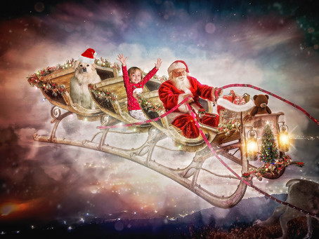 New For 2019: Santa's Sleigh Sessions