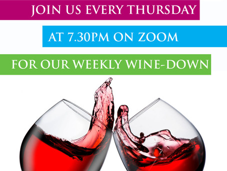 Launching Our Weekly Wine-Down Sessions