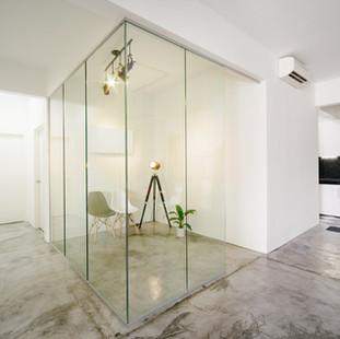 Millennium Glass: Glass Office Divider