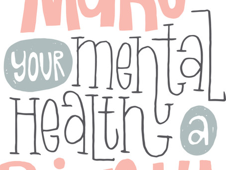 Mental Health Awareness Week and a Government Investment