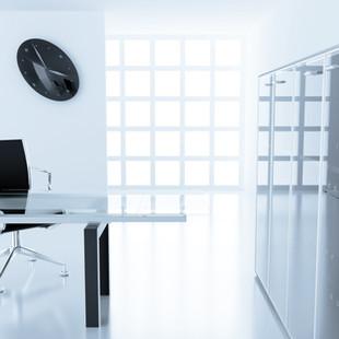 Millennium Glass Glass Office Table