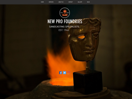 New Website For New Pro Foundries