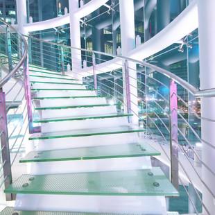 Millennium Glass: Glass Staircase