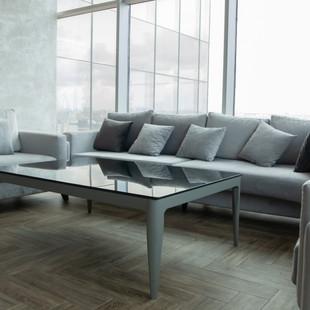 Millennium Glass: Glass Office Table