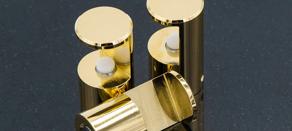 """Mounting Hardware """"A"""" GOLD plated"""