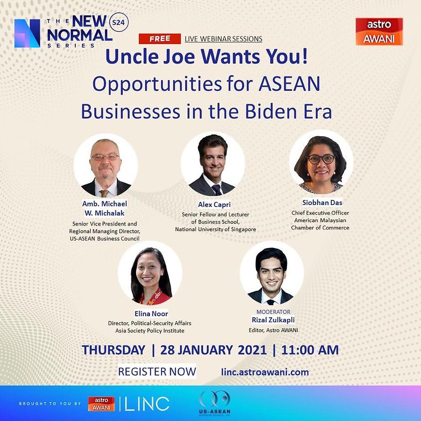 Uncle Joe Wants You! Opportunities for ASEAN Businesses in the Biden Era