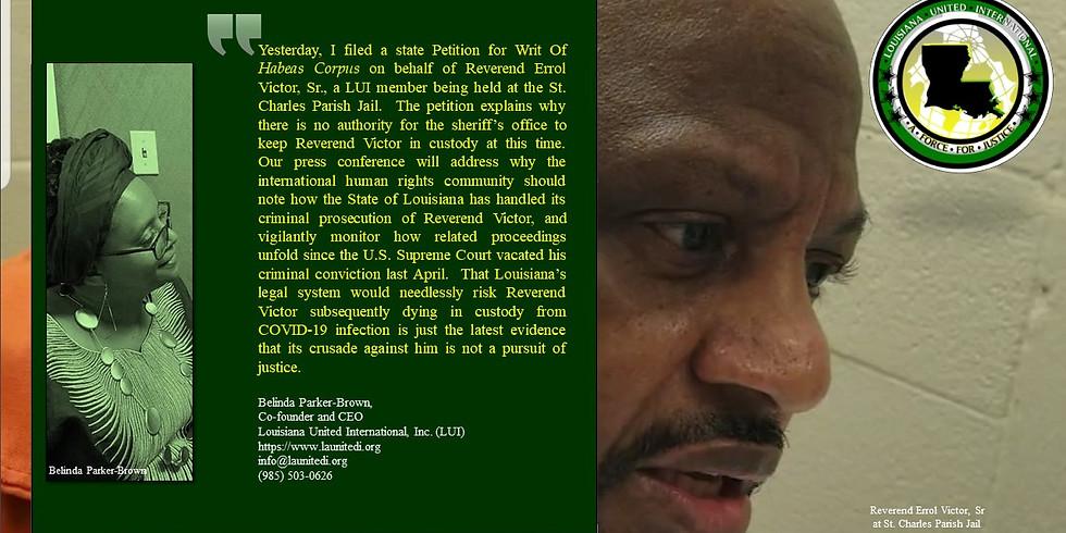 Virtual Press Conference re Parker-Brown v. Alvin Robinson, Pet for Habeas