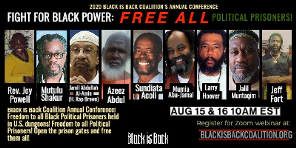 Free All Political Prisoners!  BIBC Annual Conference 2020