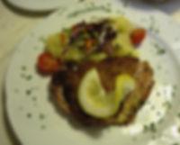 ドイツの食事。カツレツ
