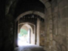 コーブルクの要塞の城壁