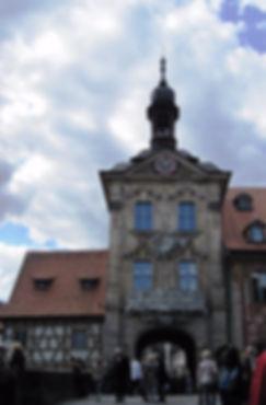 世界遺産バンベルク旧市街への入り口