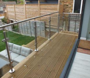 Deck & Balustrade Detail
