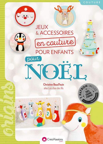 Jeux et accessoires en couture pour enfants pour Noël