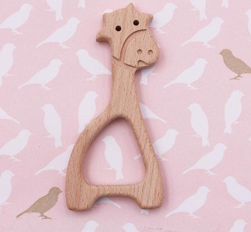 Elément de dentition en bois - girafe