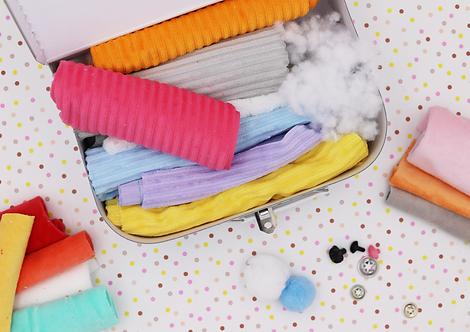 Box créative - La bande de rigolos - Jeu de quilles