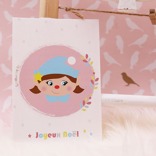 Carte Postale - Joyeux Noël