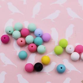 Perles en silicone