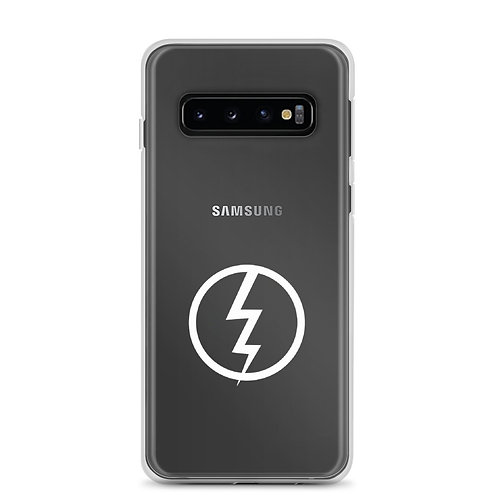 Invincible Lightning Clear Samsung Case