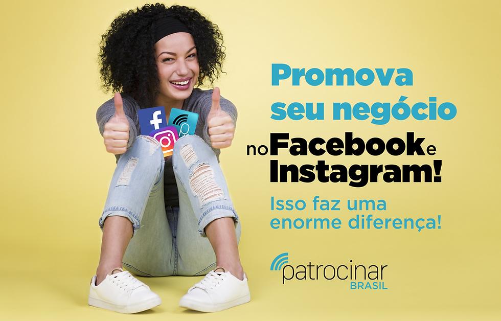Impulsinar seu Negócio no Facebook e Instagram Patrocinado