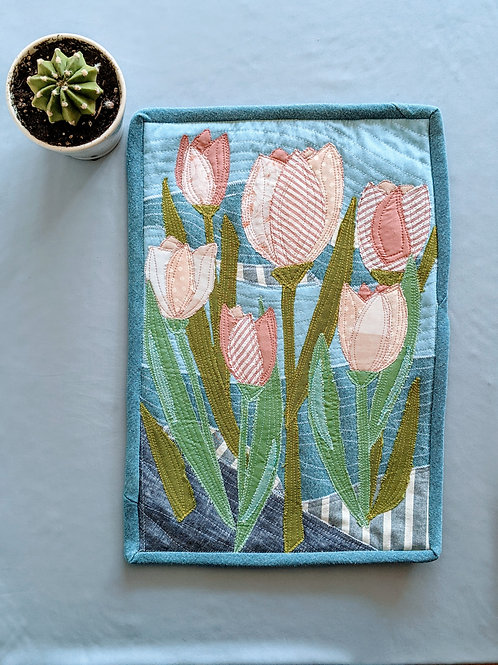 Quilted Spring Wall Hanging