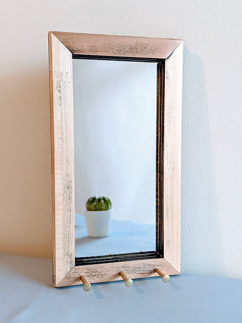 Upcycled Easel Mirror - Sanded
