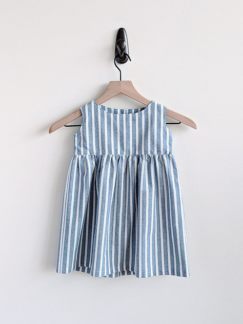 Stripes Ahoy! Baby Dress (12-18 mo)
