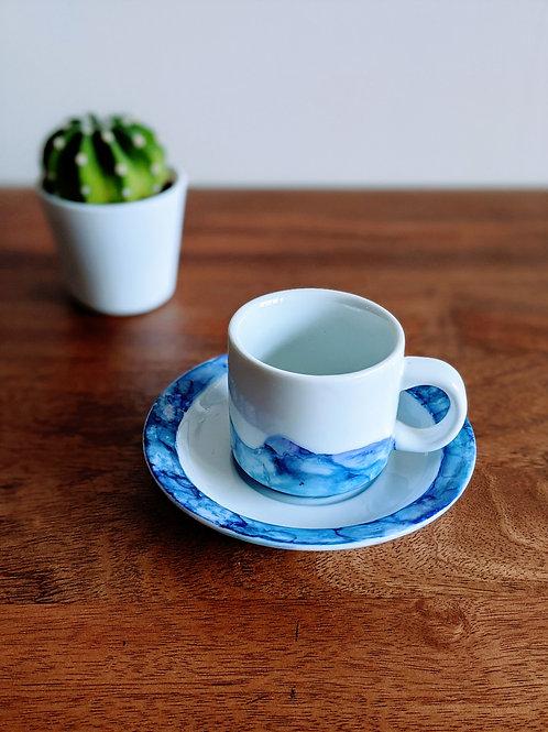Indigo Ink Espresso Cups