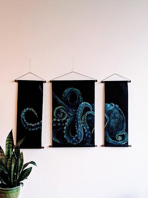 Octopus Triptych