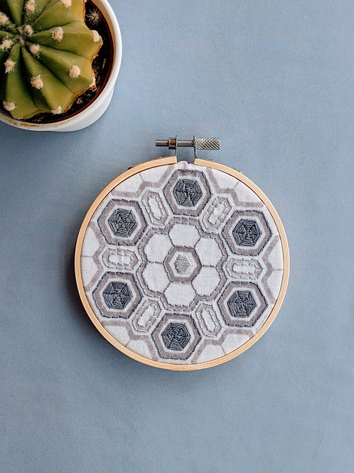 Granite Hexagon Hoop