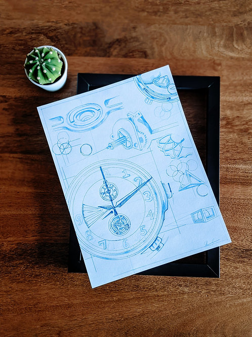 Anatomy of A Clock - Architectural Study