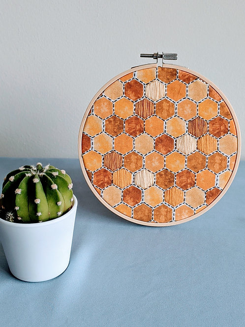 Honeycomb Hexagon Hoop