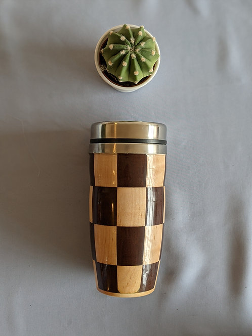 Checkerboard Thermos