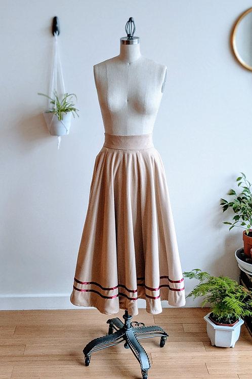 Blanket Circle Skirt