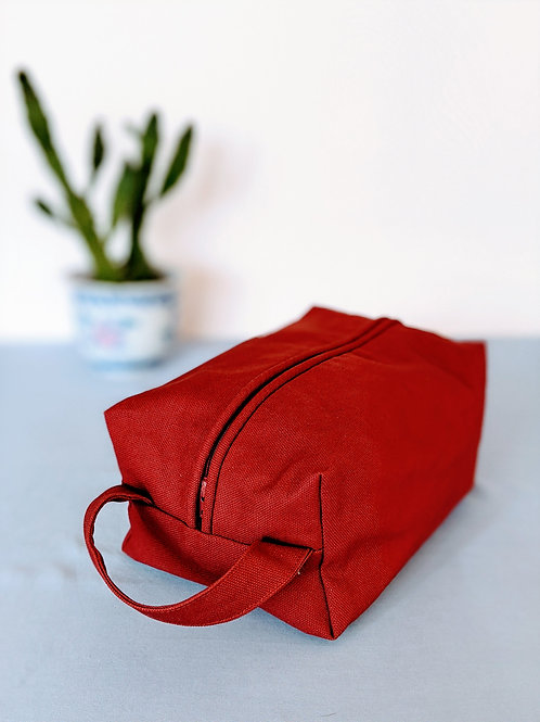 Canvas Kit-Toiletry Bag