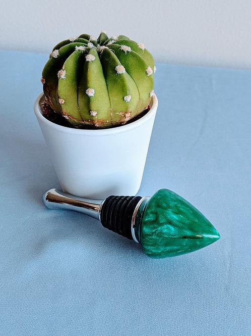 Jade Bottle Stopper