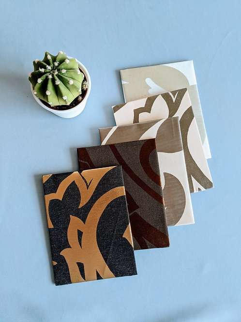 Upcycled Upholstery Note Cards