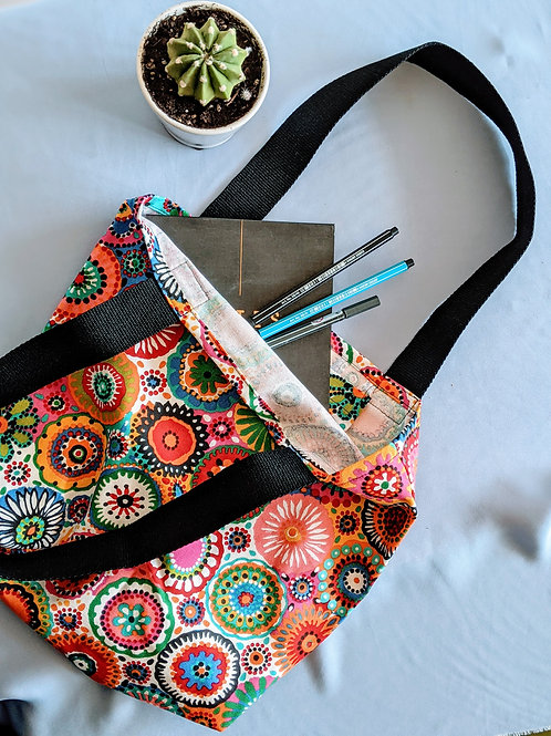 Color Spin Tote Bag