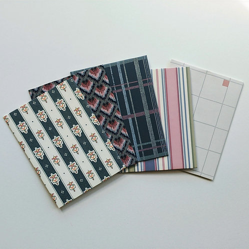 Bold Wallpaper Note Cards